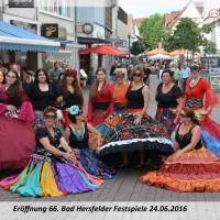 Orientalische Tanzgruppe Balady Festspieleröffnung 2016