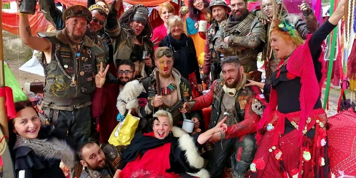 Besuch der Endzeitler  Rotenburg Annotopia 2019